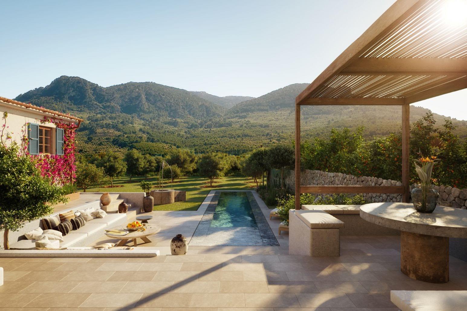 Berrow Projects Canoneta Garden Soller